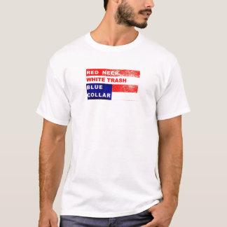 RedNeck White Trash Blue Collar Muscle Shirt