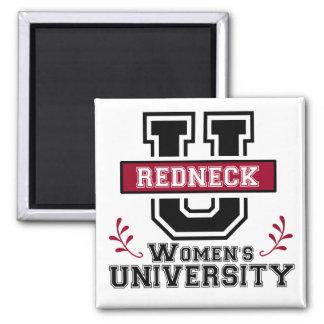 Redneck Women's Square Magnet