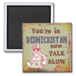 Redneckistan Humorous Magnet