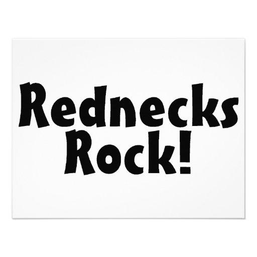Rednecks Rock Invitation