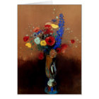 Redon: Wild Flowers, C1912 Card