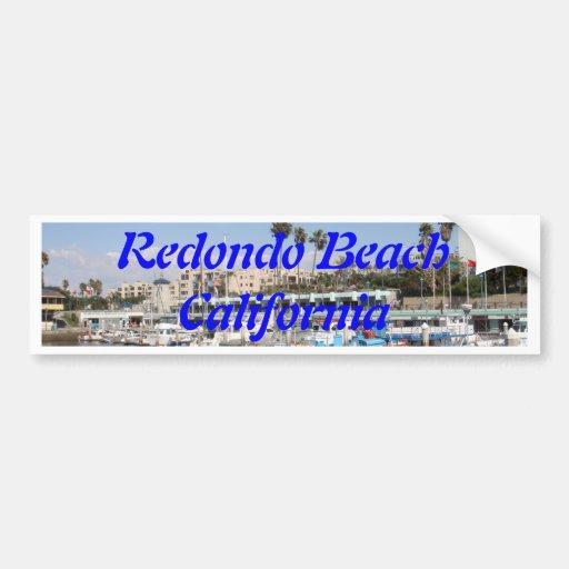 Redondo Beach California Bumper Stickers