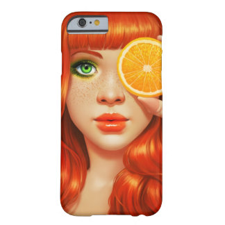 RedOrange Barely There iPhone 6 Case