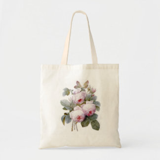 Redoute 4 (Rose) Budget Tote Bag