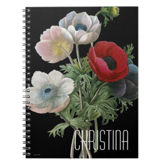 Redoute: Anemone, 1833 Notebook