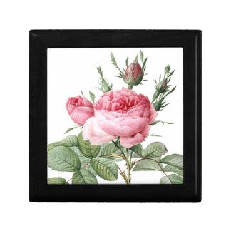 Redoute Les Rose #2 Keepsake Box