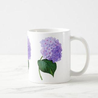 Redoute Purple Hydrangea Coffe Mug