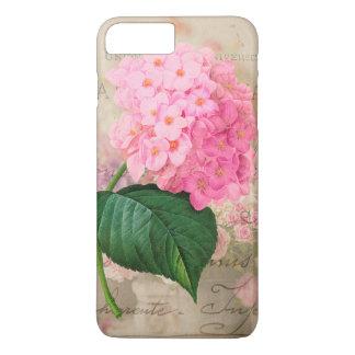 Redoute Shabby Pink Hydrangea iPhone 7 Plus Case