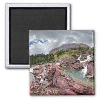 Redrock Falls - Glacier National Park Magnet