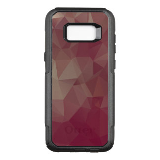 Reds and Pinks Abstract Pyramid Art OtterBox Commuter Samsung Galaxy S8+ Case