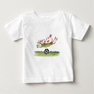 reds soccer dog baby T-Shirt