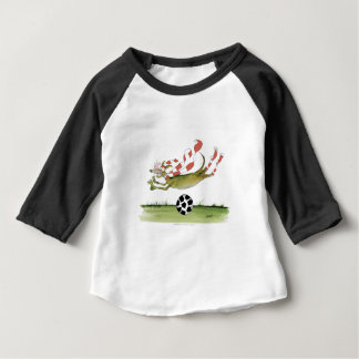 reds soccer dog baby T-Shirt