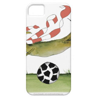 reds soccer dog case for the iPhone 5
