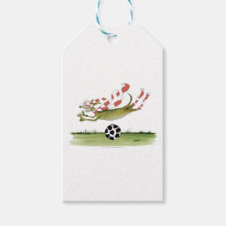 reds soccer dog gift tags