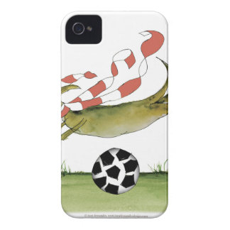 reds soccer dog iPhone 4 case