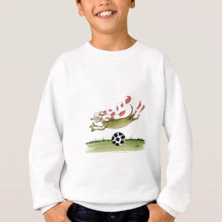 reds soccer dog sweatshirt