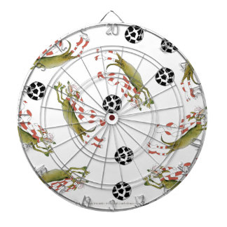 reds soccer dogs dartboard