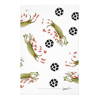 reds soccer dogs stationery