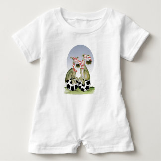 reds soccer dogs when saturday comes baby romper