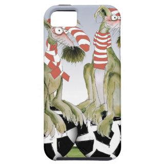 reds soccer dogs when saturday comes iPhone 5 case