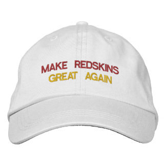 REDSKINS GREAT EMBROIDERED HAT