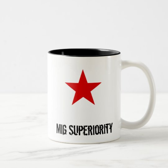 redstar, Mig Superiority Two-Tone Coffee Mug