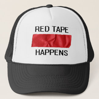 redtape trucker hat
