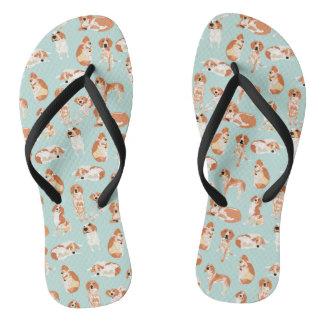 Redtick Coonhound Flip Flops