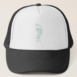 Reduce Carbon Footprint Trucker Hat