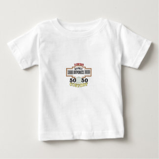 reduce divorces automatic 50 50 custody baby T-Shirt