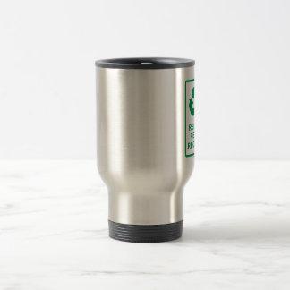 reduce-reuse-recycle mug