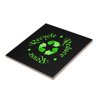 Reduce Reuse Recycle Tiles
