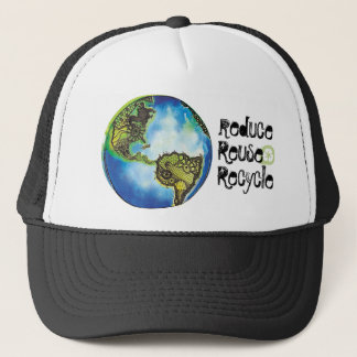 Reduce. Reuse, Recycle Trucker Hat