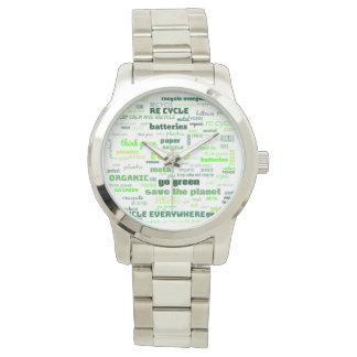 Reduce, Reuse, Recycle Word Cloud Watch