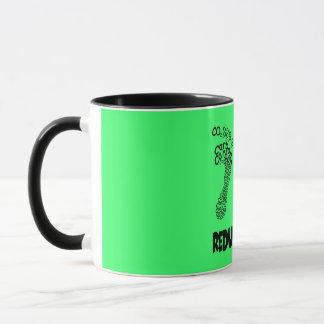 Reduce your carbon footprint mug