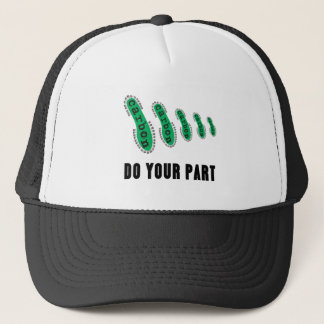 Reduce Your Carbon Footprint Trucker Hat