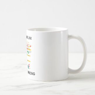 Reduce Your Junk Support Gene Splicing (RNA Humor) Coffee Mug