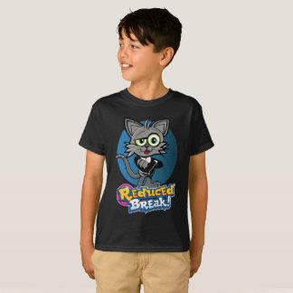 Reduced Break Crazy Cat T-Shirt
