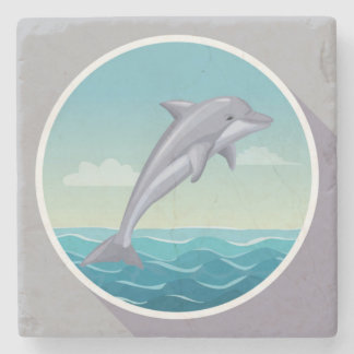 Reductor Dolphin Stone Coaster