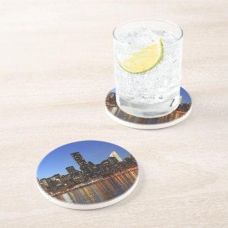 Reductor of skyline New York Beverage Coasters