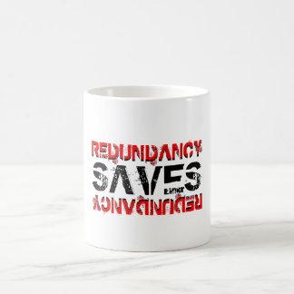 Redundancy saves coffee mug