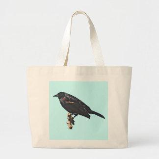 Redwing Blackbird Gift Large Tote Bag