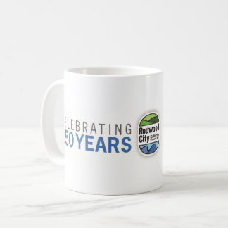 Redwood City 150th Anniversary Coffee Mug