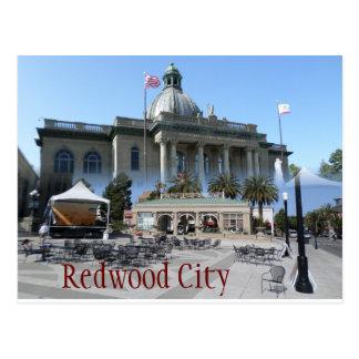 Redwood City postcard