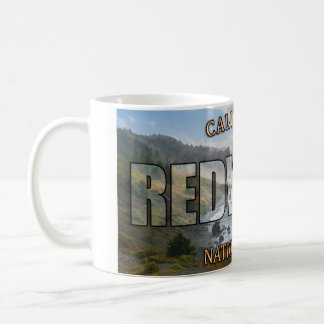 Redwood National Park Classic White Coffee Mug