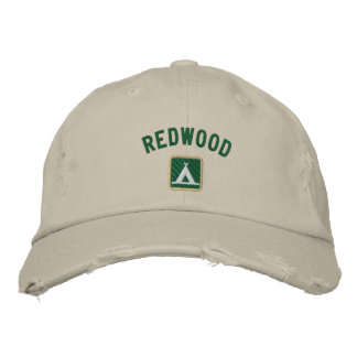 Redwood National Park Embroidered Hat