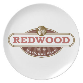 Redwood National Park Party Plates
