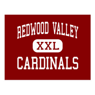 Redwood Valley - Cardinals - Redwood Falls Postcard