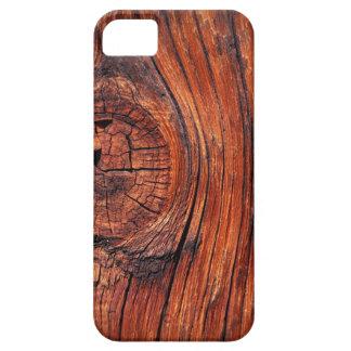 Redwood Wood Grain iPhone 5 Cover