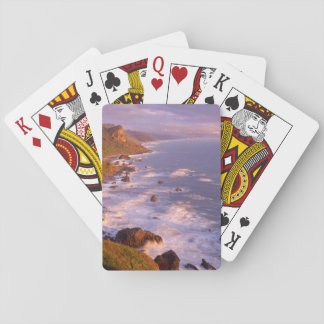 Redwoods coastline, California Playing Cards